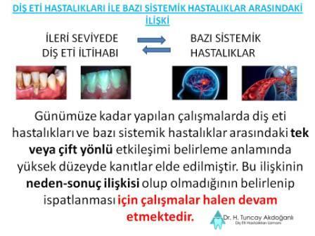 Dişeti hastalıkları ve sistemik hastalıklar arasındaki ilişki
